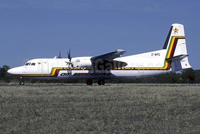 Air Zimbabwe Fokker F.27 Mk. 050 Z-WPG (msn 20104) HRE (Christian Volpati Collection). Image: 950743.