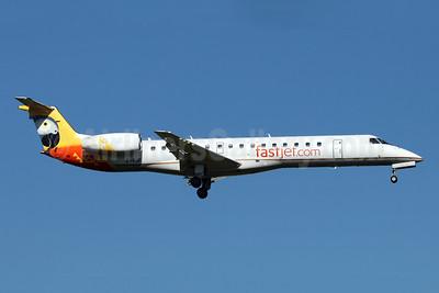 Fastjet.com (Fastjet Zimbabwe) Embraer ERJ 145LR (EMB-145LR) Z-FJF (msn 145607) JNB (Jonathan Druion). Image: 945987.
