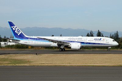 ANA (All Nippon Airways) Boeing 787-9 Dreamliner JA883A (msn 43873) (Inspiration of Japan) PAE (Nick Dean). Image: 934554.