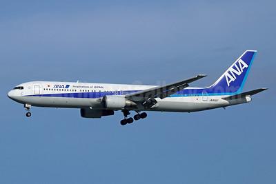 ANA (All Nippon Airways) Boeing 767-381 JA8357 (msn 25293) (Inspiration of Japan) NRT (Michael B. Ing). Image: 929296.