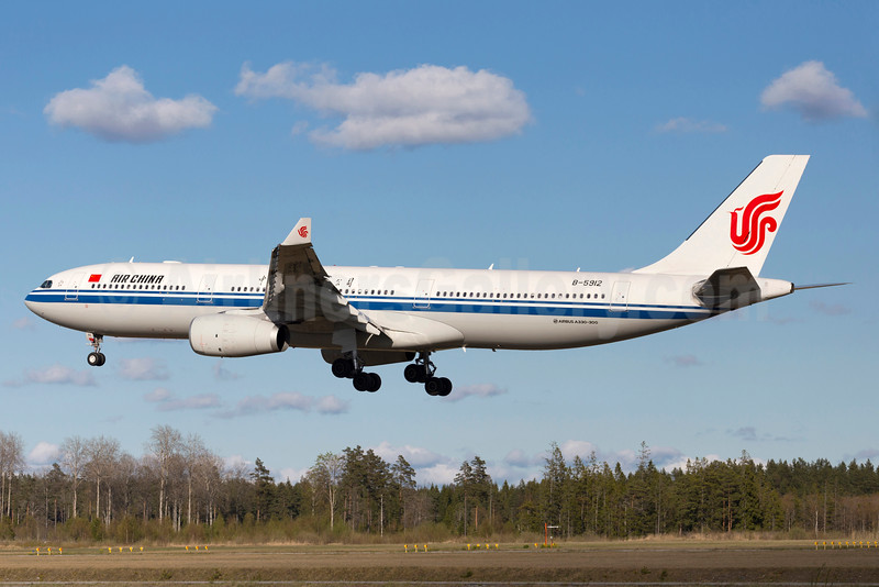 Air China Airbus A330-343 B-5912 (msn 1493) ARN (Stefan Sjogren). Image: 934521.
