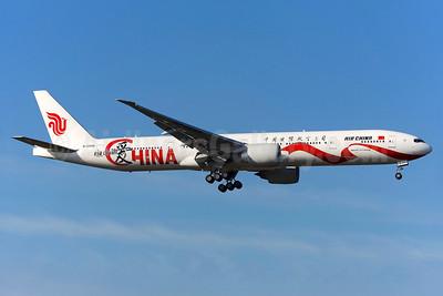 Air China Boeing 777-39L ER B-2006 (msn 44931) (Love China) LHR (Greenwing). Image: 933810.