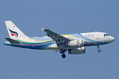 Bangkok Air (Bangkok Airways) Airbus A319-132 HS-PGX (msn 3424) BKK (Michael B. Ing). Image: 934561.