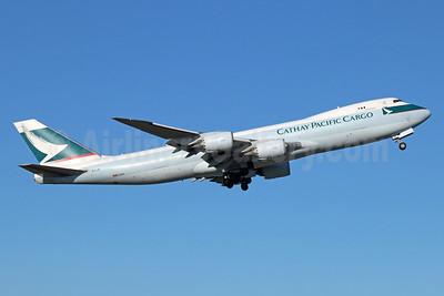 Cathay Pacific Airways Cargo Boeing 747-867F B-LJE (msn 39242) ANC (Michael B. Ing). Image: 933013.