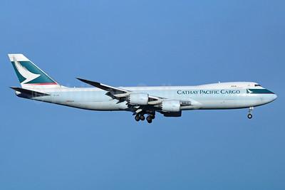 Cathay Pacific Airways Cargo Boeing 747-867F B-LJE (msn 39242) ANC (Michael B. Ing). Image: 926515.