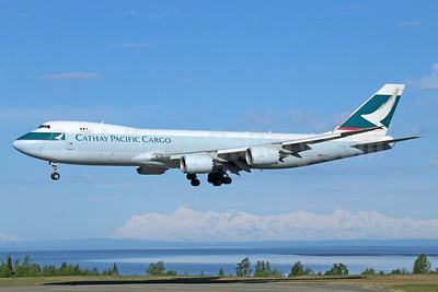 Cathay Pacific Airways Cargo Boeing 747-867F B-LJE (msn 39242) ANC (Michael B. Ing). Image: 933014.