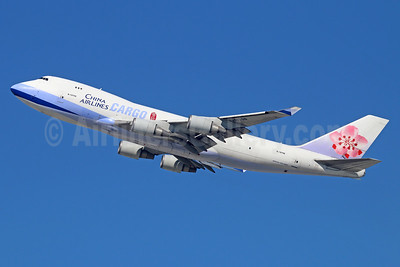 China Airlines Cargo Boeing 747-409F B-18706 (msn 30763) LAX (Michael B. Ing). Image: 933059.