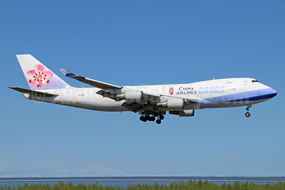 China Airlines Cargo Boeing 747-409F B-18706 (msn 30763) ANC (Michael B. Ing). Image: 933058.