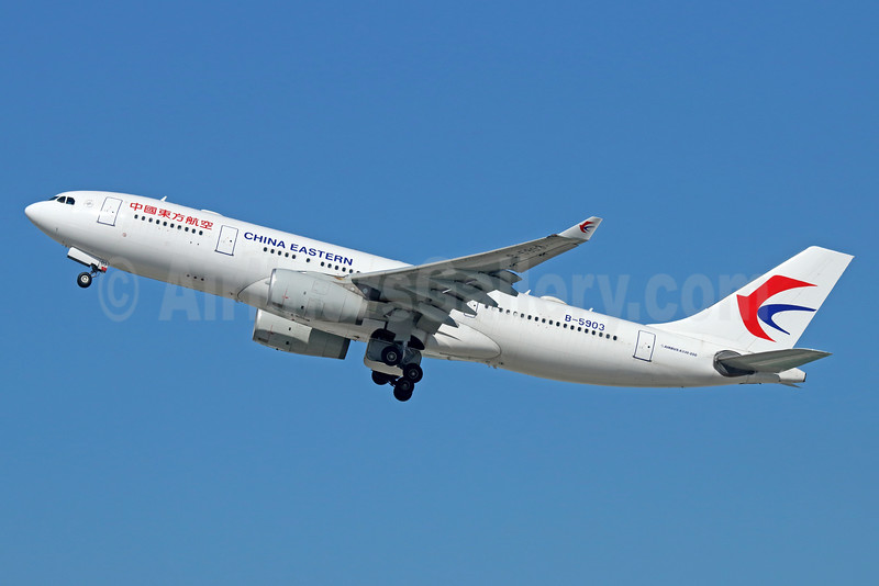 China Eastern Airlines Airbus A330-243 B-5903 (msn 1331) LAX (Michael B. Ing). Image: 933927.