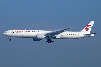China Eastern Airlines Boeing 777-39P ER B-2025 (msn 43276) LAX (Michael B. Ing). Image: 932906.