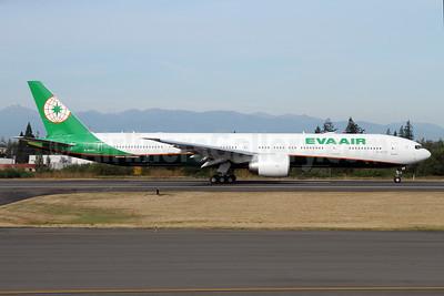 EVA Air Boeing 777-35E ER B-16729 (msn 61601) PAE (Nick Dean). Image: 934556.
