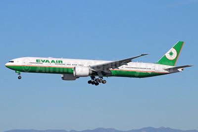 EVA Air Boeing 777-36N ER B-16723 (msn 42108) LAX (Michael B. Ing). Image: 933908.