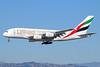 Emirates Airline Airbus A380-861 A6-EOH (msn 174) (Expo 2020 Dubai UAE) LAX (Michael B. Ing). Image: 933628.