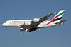 Emirates Airline Airbus A380-861 A6-EDS (msn 086) (Universal Expo 2020 Dubai UAE) DXB (Paul Denton). Image: 910770.