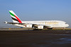 Emirates Airline Airbus A380-861 A6-EDI (msn 028) AMS (Ton Jochems). Image: 911105.