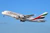 Emirates Airline Airbus A380-861 A6-EET (msn 142) (Expo 2020 Dubai UAE) LAX (Michael B. Ing). Image: 927517.
