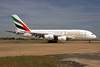 Emirates Airline Airbus A380-861 A6-EDR (msn 083) (Expo 2020 Dubai UAE) LHR. Image: 928329.