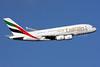 Emirates Airline Airbus A380-861 A6-EEN (msn 135) (Expo 2020 Dubai UAE) LHR (SPA). Image: 927351.
