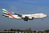 Emirates SkyCargo (Emirates Airline) (TNT Airways) Boeing 747-4HAF OO-THC (msn 35235) LHR (SPA). Image: 930201.