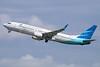 Garuda Indonesia Airways Boeing 737-8U3 WL PK-GFD (msn 40807) DPS (Michael B. Ing). Image: 924191.