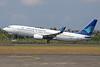 Garuda Indonesia Airways Boeing 737-8CX WL PK-GEE (msn 32361) DPS (Michael B. Ing). Image: 930104.