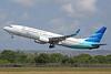 Garuda Indonesia Airways Boeing 737-8U3 WL PK-GMA (msn 30151) DPS (Michael B. Ing). Image: 930105.