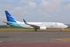 Garuda Indonesia Airways Boeing 737-8U3 WL PK-GMN (msn 30146) DPS (Michael B. Ing). Image: 924197.
