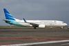 Garuda Indonesia Airways Boeing 737-8U3 WL PK-GMD (msn 30156) DPS (Michael B. Ing). Image: 924193.