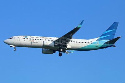 Garuda Indonesia Airways Boeing 737-86N WL PK-GFA (msn 36549) (Visit Indonesia) BKK (Michael B. Ing). Image: 934562.
