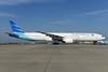 Garuda Indonesia Airways Boeing 777-3U3 ER PK-GIE (msn 29147) AMS (Ton Jochems). Image: 933263.