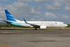 Garuda Indonesia Airways Boeing 737-8U3 WL PK-GMG (msn 30141) DPS (Michael B. Ing). Image: 924195.