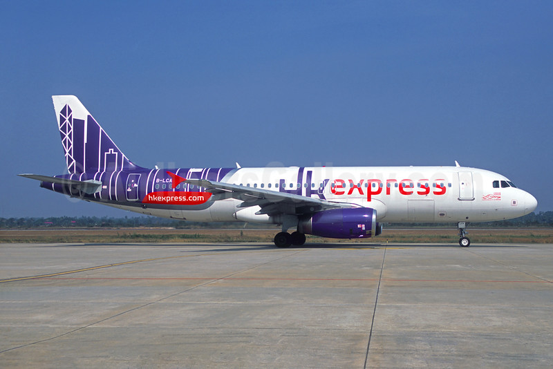 HK Express Airbus A320-232 B-LCA (msn 2717) SGN (Jacques Guillem Collection). Image: 934389.