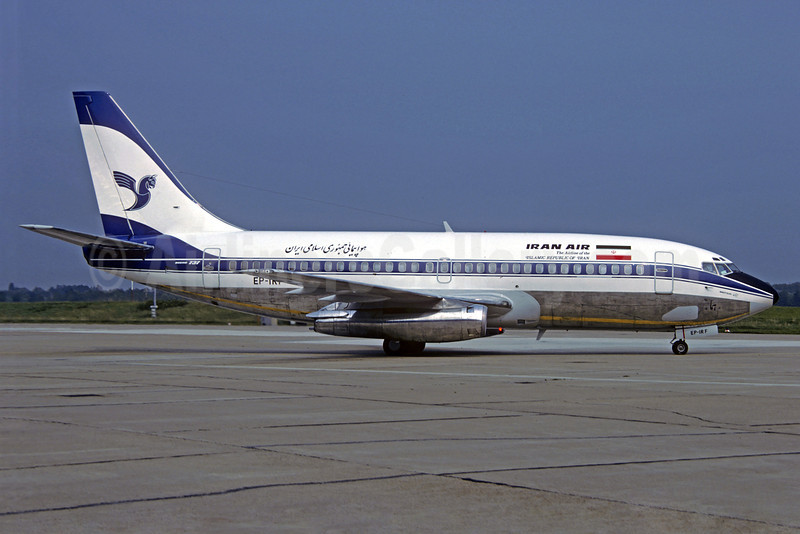 Iran Air-The Airline of the Islamic Republic of Iran Boeing 737-286 EP-IRF (msn 20498) HAM (Michel Saint-Felix Collection). Image: 912928.