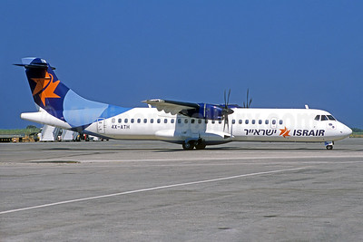 Israir Airlines ATR 72-212A (ATR 72-500) 4X-ATH (msn 931) (Jacques Guillem Collection). Image: 934401.