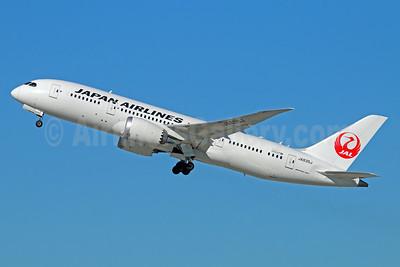 JAL-Japan Airlines Boeing 787-8 Dreamliner JA835J (msn 34850) LAX (Michael B. Ing). Image: 934006.