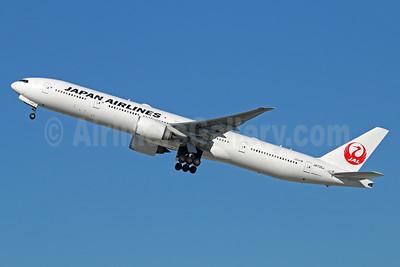 JAL-Japan Airlines Boeing 777-346 ER JA735J (msn 32434) LAX (Michael B. Ing). Image: 934000.