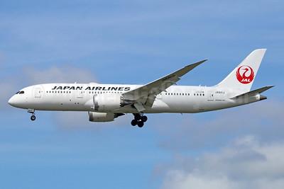 JAL-Japan Airlines Boeing 787-8 Dreamliner JA841J (msn 34855) NRT (Michael B. Ing). Image: 934411.