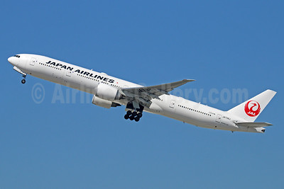 JAL-Japan Airlines Boeing 777-346 ER JA738J (msn 32436) LAX (Michael B. Ing). Image: 933990.