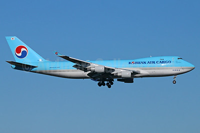 Korean Air Cargo Boeing 747-4B5F HL7434 (msn 32809) ANC (Michael B. Ing). Image: 922672.
