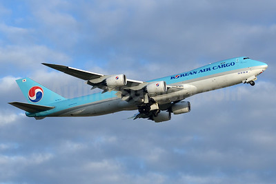 Korean Air Cargo Boeing 747-8B5F HL7623 (msn 37655) YYZ (TMK Photography). Image: 933201.