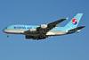 Korean Air Airbus A380-861 HL7628 (msn 156) LAX (Jay Selman). Image: 402889.