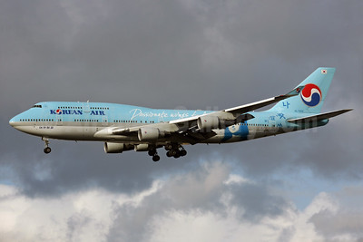 "Korean Air's ""Mona Lisa"" (Passion to wings to Art) logo jet"