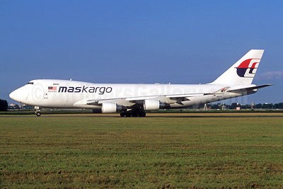 MASkargo (Malaysia Airlines) Boeing 747-4H6F 9M-MPS (msn 29902) AMS (Jacques Guillem Collection). Image: 934564.