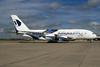 """""""100th A380"""" special emblem"""