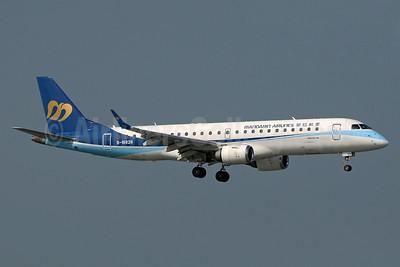 Mandarin Airlines Embraer ERJ 190-100 IGW B-16828 (msn 19000190) HKG (Paul Denton). Image: 934420.