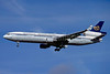 Mandarin Airlines McDonnell Douglas MD-11 B-150 (msn 48468) ZRH (Paul Bannwarth). Image: 934424.