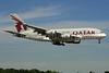 Qatar Airways Airbus A380-861 A7-APB (msn 143) LHR (SPA). Image: 928409.