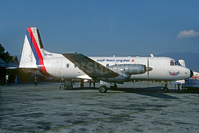 Royal Nepal Airlines Hawker Siddeley HS.748-253 Series 2A 9N-AAV (msn 1672) KTM (Christian Volpati Collection). Image: 933743.