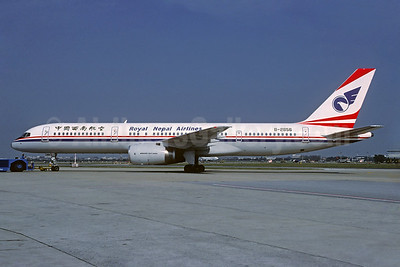 Royal Nepal Airlines Boeing 757-2Z0 B-2865 (msn 29793) (China Southwest Airlines colors) BKK (Christian Volpati Collection). Image: 933744.