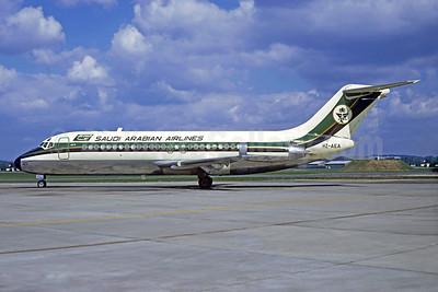 Saudi Arabian Airlines Douglas DC-9-15 HZ-AEA (msn 47000) LBG (Christian Volpati). Image: 933429.